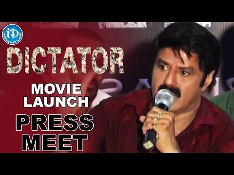 Balakrishna's Dictator Movie Launched At D Ramanaidu Studios - Anjali || Sriwass || Thaman