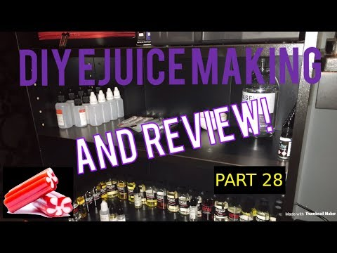 DIY E Juice Mixing And Review VELVET VINYARDS  By  QWICKWID