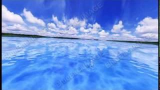 映像素材 動画素材sea e 海 空 雲 海面 地平線