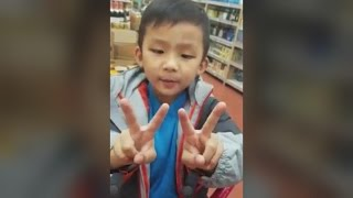 vuclip 4-Year-Old Boy Gives Impromptu Biology Lesson to Med Student in Grocery Store