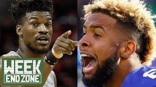 Are Odell Beckham Jr & Jimmy Butler CRAZY or Passionate?! | WEZ
