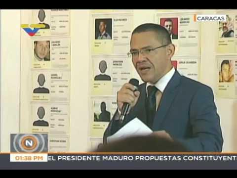 Ernesto Villegas presenta balance de fallecidos en protestas violentas de 2017