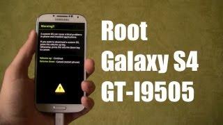 Comment rooter le Samsung Galaxy S4 GT-I9505 - en français!
