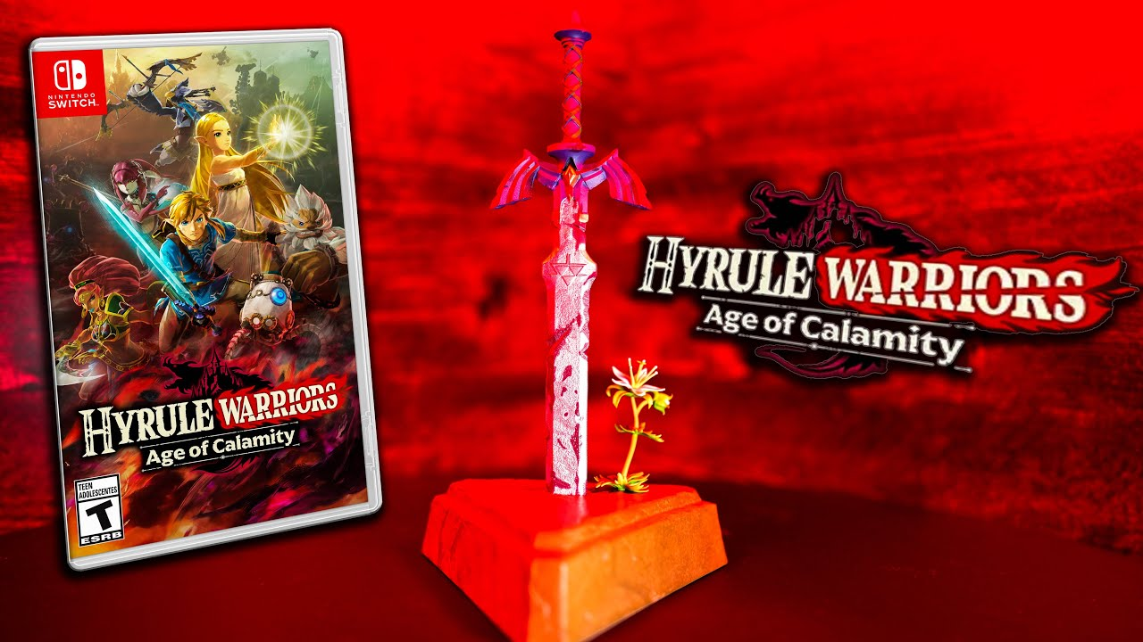 Zelda Surprise Announcement Hyrule Warriors Age Of Calamity Breath Of The Wild Prequel Nov 20 Youtube