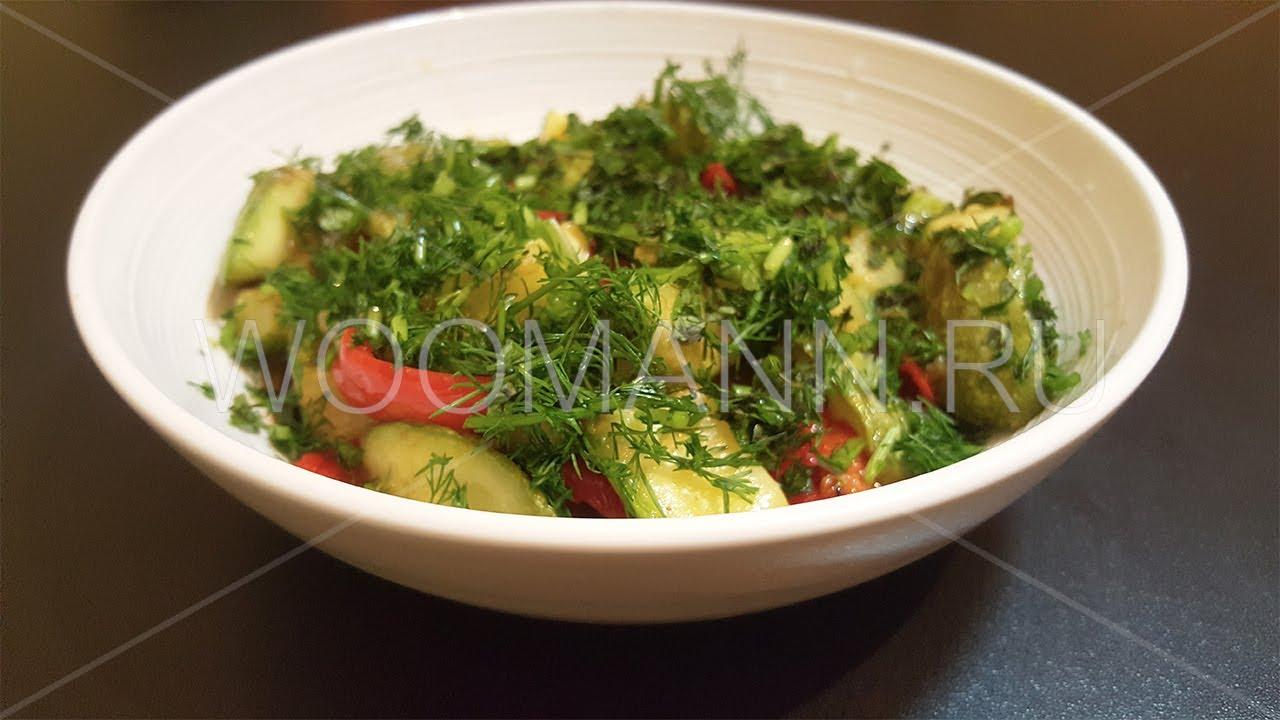 Вкусное блюдо из кабачков на сковороде (Турецкие рецепты)