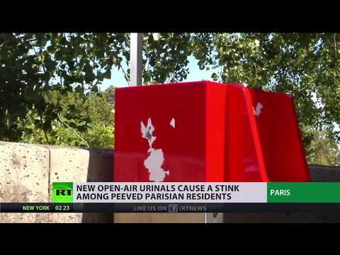 Wee or Non? Paris installs public urinals on its streets