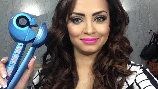 Repeat youtube video How I Curl My Hair / Babyliss MiraCurl Pro Nano Titanium review