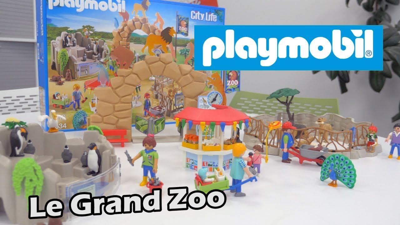 playmobil le grand zoo 6634 d mo en fran ais hd fr. Black Bedroom Furniture Sets. Home Design Ideas