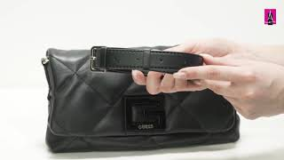 Видеообзор I Женская сумка мессенджер GUESS BRIGHTSIDE 2569408