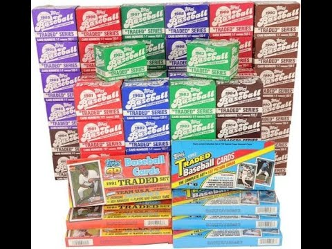 1981 TOPPS TRADED SET - 132 CARD CHECKLIST