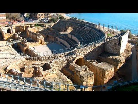 Tarragona Amphitheatre, Roman Circus, Ancient Ruins of Tarraco!