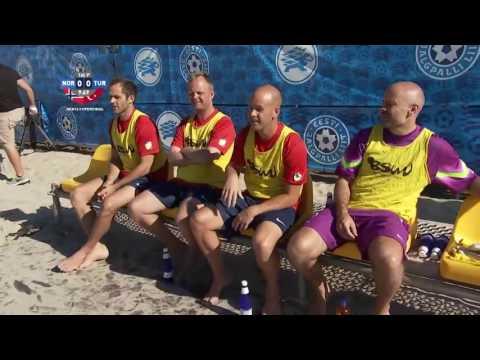 FIFA beach soccer EBSL 2015 Superfinal NORWAY TURKEY