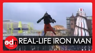 Britain's Real-life Iron Man Smashes Jet Suit World Speed Record