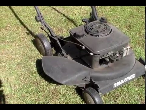 22 year old lawn mower cold start youtube. Black Bedroom Furniture Sets. Home Design Ideas