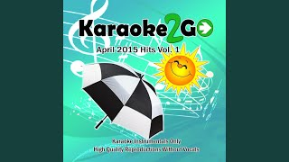 Ayo (Karaoke Instrumental Track) (In the Style of Chris Brown Ft. Tyga)