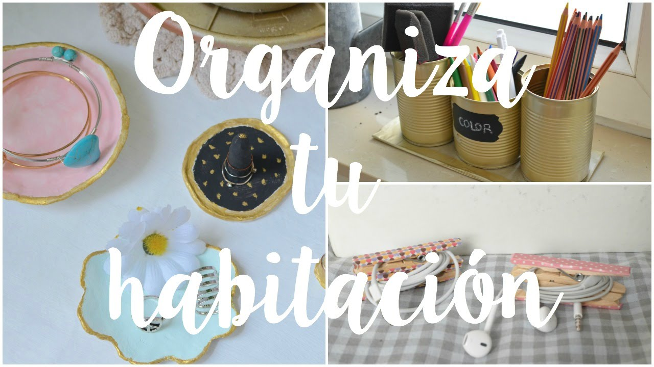 Ideas para decorar organizar tu habitaci n diy merce for Manualidades para decorar tu cuarto