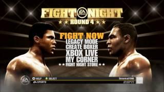 Fight Night Round 4 Xbox 360 Gameplay