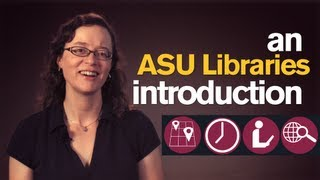 Library Minute:  Intro to ASU Libraries 101