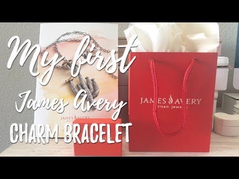 My First James Avery Charm Bracelet | Plus Browse The Summer 2019 Catalog With Me