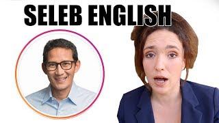 Sandiaga Uno, Pita, Andre Taulany - SELEB ENGLISH