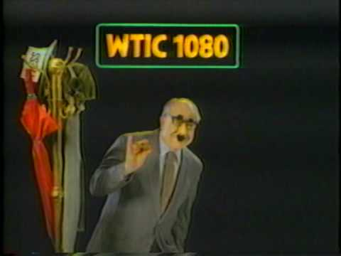 WTIC 1080 TELEVISION SPOT 1980s