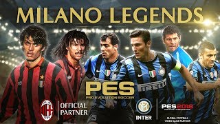 PES 2018 - Milano Legends Trailer