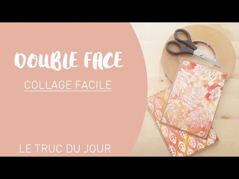 L'adhesif double face : collage facile ||...