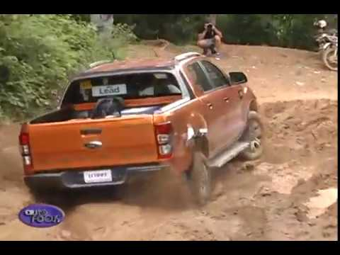 Ford Ranger Test Drive To Mt. Balagbag - Test Drives