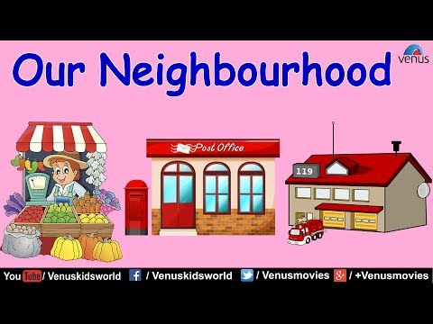 World Of Knowledge  ~ Our Neighbourhood And Their Services