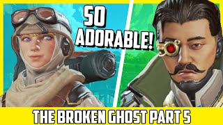 Crypto & Wattson Are ADORABLE! The Broken Ghost Part 6 - Apex Legends PVE & Lore