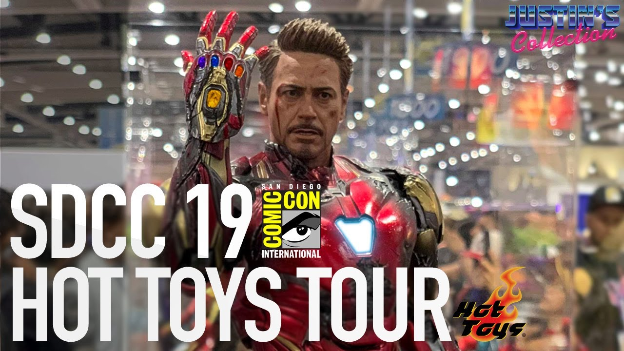 Download Hot Toys SDCC 2019 Floor Walking Tour