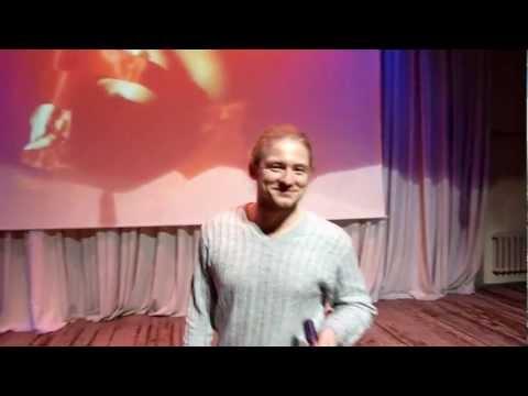 """Денис Науменко. 1 репетиция для конкурса """"НАША ПЕСНЯ"""""""