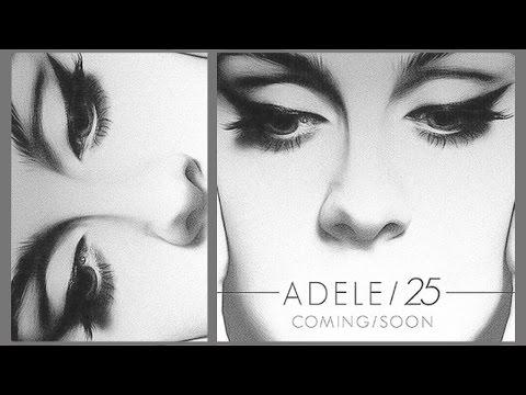 Adele 25 Album Cover Inspired Makeup Tutorial
