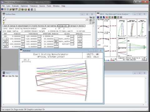OSLO Lens Spreadsheet Editor