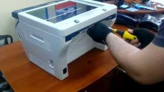 Как вытащить бумагу с Xerox WC 3045
