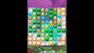 Candy Crush Soda Saga: Level 8 Gameplay, Walkthrough, Tutorial! Candy Town Levels!