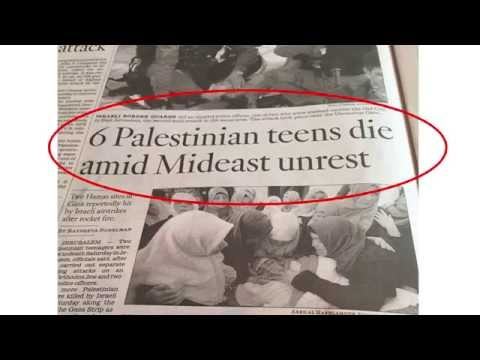 Anti Israel Media Bias Much?