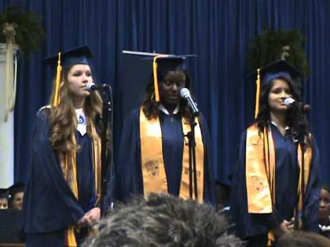 Michal Cook, Sabaa Sharma and Kirsten Webb sing