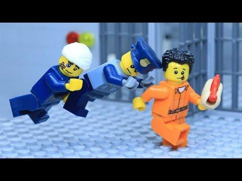 Lego Prison Break: Become A Super Hero After Robbery A Hotdog