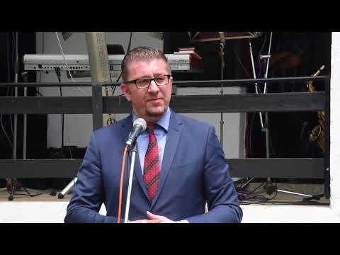 Мицкоски: Злото кое што и се случува на Република Македонија има име и презиме, се вика Зоран Заев