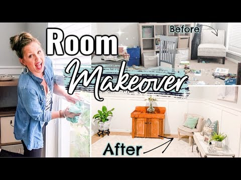 NEW! ROOM MAKEOVER ON A BUDGET | 🍂FALL CLEAN & DECORATE WITH ME 2019