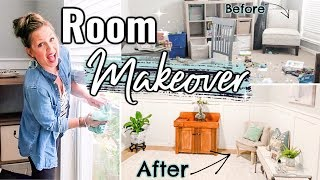 NEW! ROOM MAKEOVER ON A BUDGET | CLEAN & DECORATE WITH ME 2019