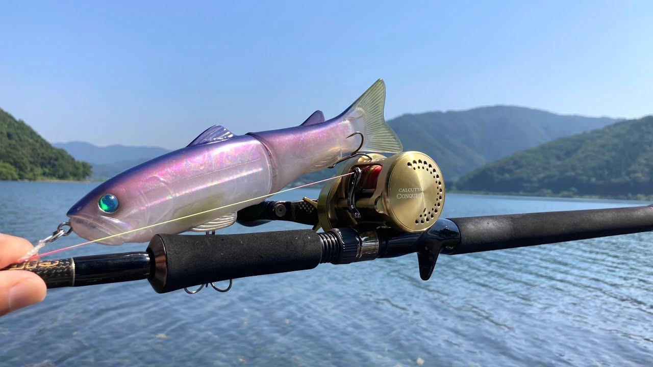 ビッグベイト縛り釣行で、遂にスライドスイマー250で釣れました!【のんびりバス釣り】