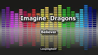 Imagine Dragons - Believer - Karaoke