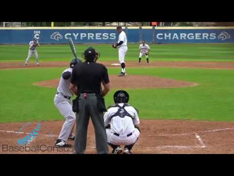 Cristian Lopez, RHP, Cypress College