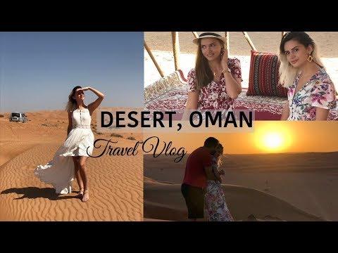 TRAVEL VLOG TO OMAN part2 IN THE DESERT | REGANA