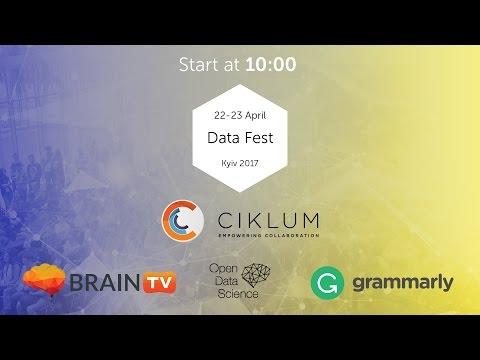 Data Fest Kyiv 2017. Workshop. April 23.