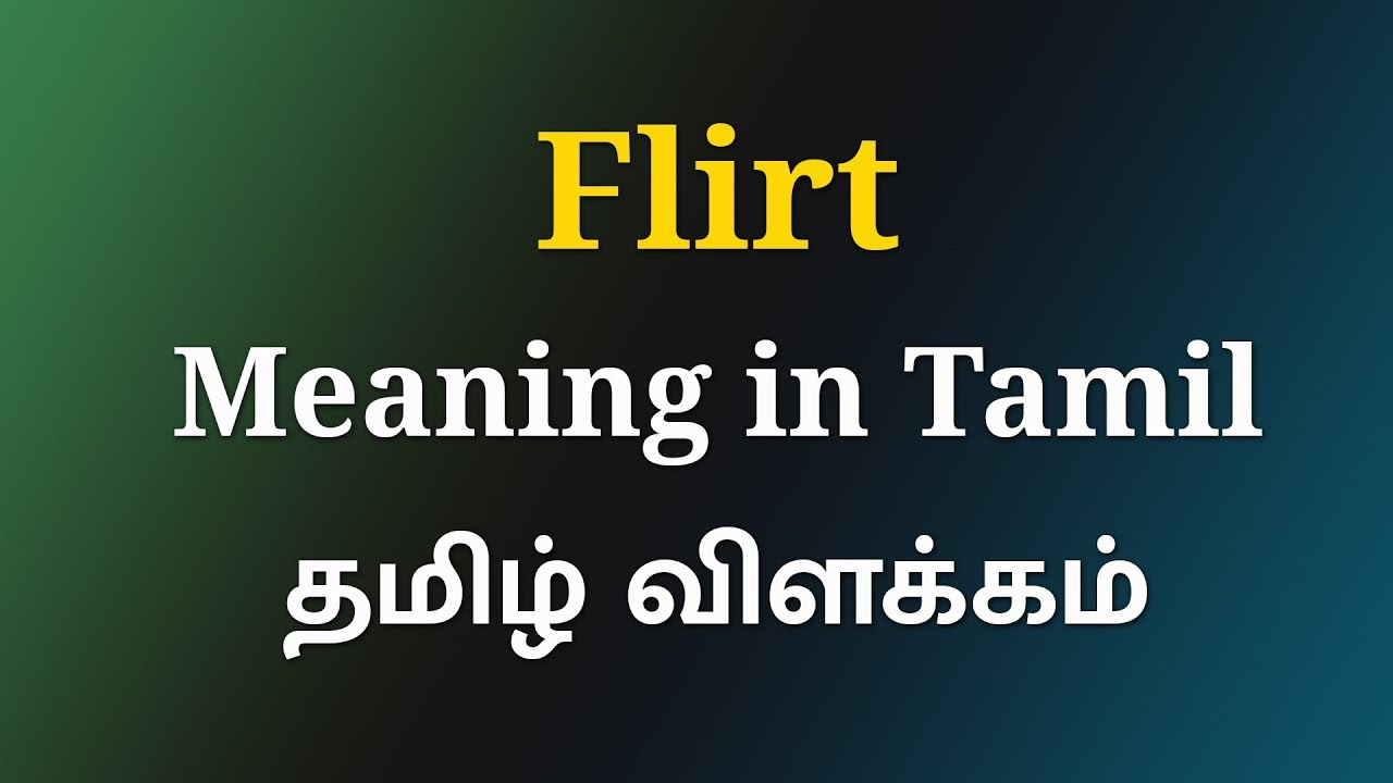 flirter different languages