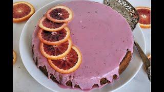Dessert Recipe: AMAZING Blood Orange Cake by Everyday Gourmet with Blakely