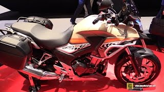 2016 Honda 500X Travel Edition - Walkaround - Debut at 2015 EICMA Milan